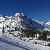 Photo taken at Squaw Valley Ski Resort by Daniel E. on 1/12/2013