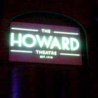Foto tirada no(a) The Howard Theatre por Stacy B. em 10/26/2012