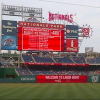 Photo taken at Nationals Park by Stacy B. on 7/19/2013