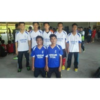Photo taken at dss futsal by Muhammad A. on 11/15/2014