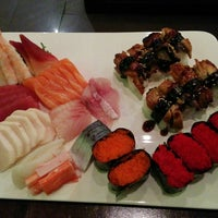 Photo taken at River Japanese Cuisine by Marilyn on 2/20/2014