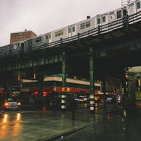 Photo taken at MTA Subway - Marcy Ave (J/M/Z) by Michael D. on 12/1/2015