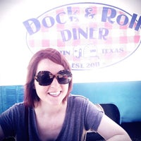 Photo taken at Dock & Roll Diner by Joel G. on 6/21/2013