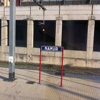 Photo taken at Gare de Namur by Gilles B. on 3/22/2011