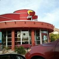 Photo taken at Red Robin Gourmet Burgers by Jo S. on 3/28/2013