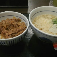 Photo taken at なか卯 船場中央大通店 by yasu_DSC11 on 4/12/2016