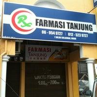 Photo taken at Farmasi Tanjung 丹绒西药房 by fireflyracoon f. on 2/17/2013