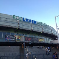 Photo taken at Rod Laver Arena by Jon M. on 3/26/2013