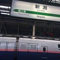 Photo taken at Niigata Station by たかとん た. on 9/21/2014