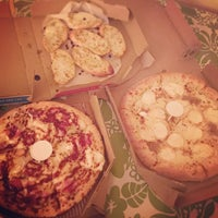 Photo taken at Domino's Pizza by Sandy O. on 1/18/2015