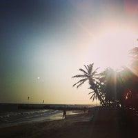 Photo taken at Playa El Yaque by Rob D. on 2/27/2013