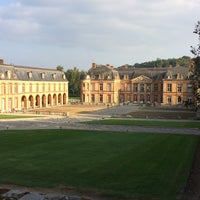 Photo taken at Château de Dampierre by Frank P. on 9/22/2014