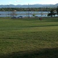 Photo taken at Sloan's Lake Pirate Playground by Jenn S. on 6/1/2013