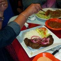 Photo taken at D'Mangu Restaurant by Jenna C. on 11/12/2012