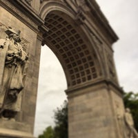 Photo taken at Washington Square Park by Mike K. on 10/16/2013