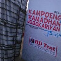 Photo taken at Kampoeng Ramadhan Jogokaryan by Herry F. on 7/1/2014