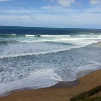 Photo taken at Bells Beach by Grim R. on 2/10/2013