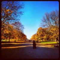 Foto tirada no(a) Kensington Gardens por Simon O. em 11/14/2012