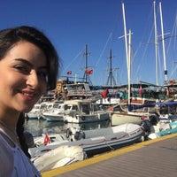 Photo taken at Gümbet İskelesi by Tara G. on 9/5/2017