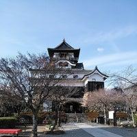 Photo taken at Inuyama Castle by Haruka on 3/8/2014