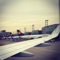 Photo taken at Gate A25 by Michel P. on 3/7/2013