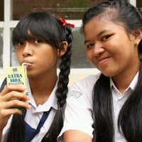 Photo taken at SMAN 5 Denpasar by Kania D. on 12/13/2012