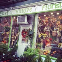 Photo taken at East Village Florist by Shane S. on 11/30/2014