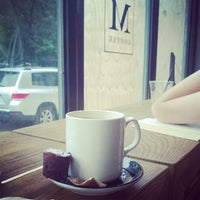 Photo taken at Manhattanville Coffee by Shane S. on 7/13/2014