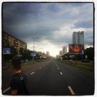 Photo taken at Ленинский проспект by Карпова А. on 6/23/2013