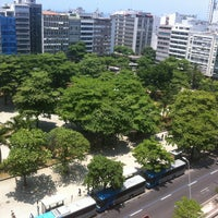 Photo taken at Praça General Osório by Edson B. on 12/31/2012