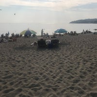 Photo taken at Plage du Racou by Remco S. on 8/6/2018