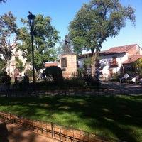 Photo taken at Plaza Gertrudis Bocanegra by Zazu M. on 2/2/2013