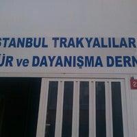 Photo taken at İstanbul Trakyalılar Kültür ve Dayanışma Derneği by Atakan Berkan O. on 1/5/2014