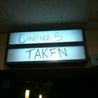 Photo taken at Center Cinema 5 by Lauren on 10/31/2012