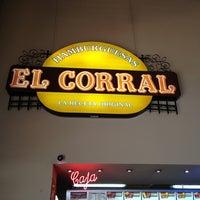 Photo taken at Hamburguesas El Corral by Chuchito T. on 2/3/2013