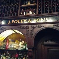 Photo taken at Johnny Foley's Irish House by Aleksandr P. on 2/2/2013