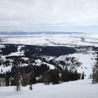 Photo taken at Grand Targhee Resort Alta by Christine S. on 3/15/2013