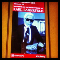 Photo taken at Sciences Po by Candice C. on 11/19/2013