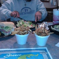 Photo taken at King Gyro's Greek Restaurant by Kim A. on 1/10/2013