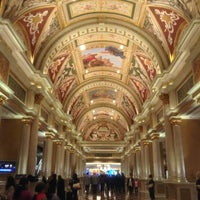 Photo taken at Venetian Concierge by Stephanie D. on 12/29/2012