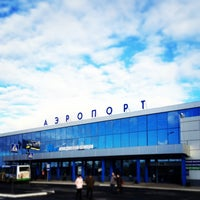 Photo taken at Omsk Central International Airport (OMS) by Софья Т. on 5/5/2013
