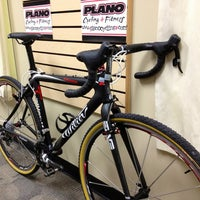 Photo taken at Plano Cycling & Fitness by Tyler H. on 11/10/2012