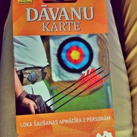Photo taken at SK Amazones archery summer base by Dace D. on 9/7/2013