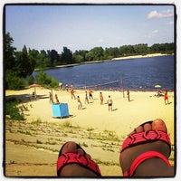Снимок сделан в Оболонский пляж пользователем Innulia 7/9/2013