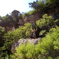 Photo taken at Barton Creek Greenbelt East by MARLENE R. on 7/5/2014