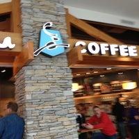 Photo taken at Caribou Coffee by Gabe B. on 4/7/2013