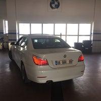 Photo taken at Uzlar Oto - BMW by İbrahim T. on 7/28/2015