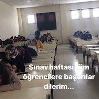 Photo taken at SDÜ Senirkent Meslek Yüksekokulu by Murat G. on 12/27/2017