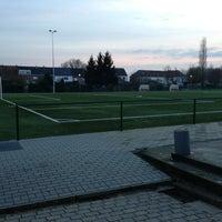 Photo taken at FCV Dender EH by Cédric V. on 1/10/2013