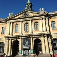 Photo taken at Nobel Museum by Svetlana K. on 3/10/2013